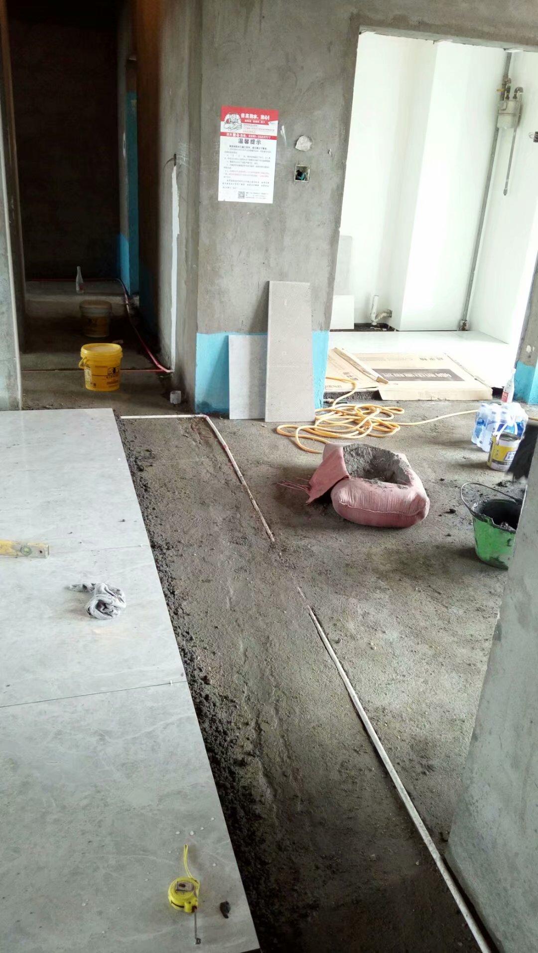 金域蓝湾瓷砖铺贴