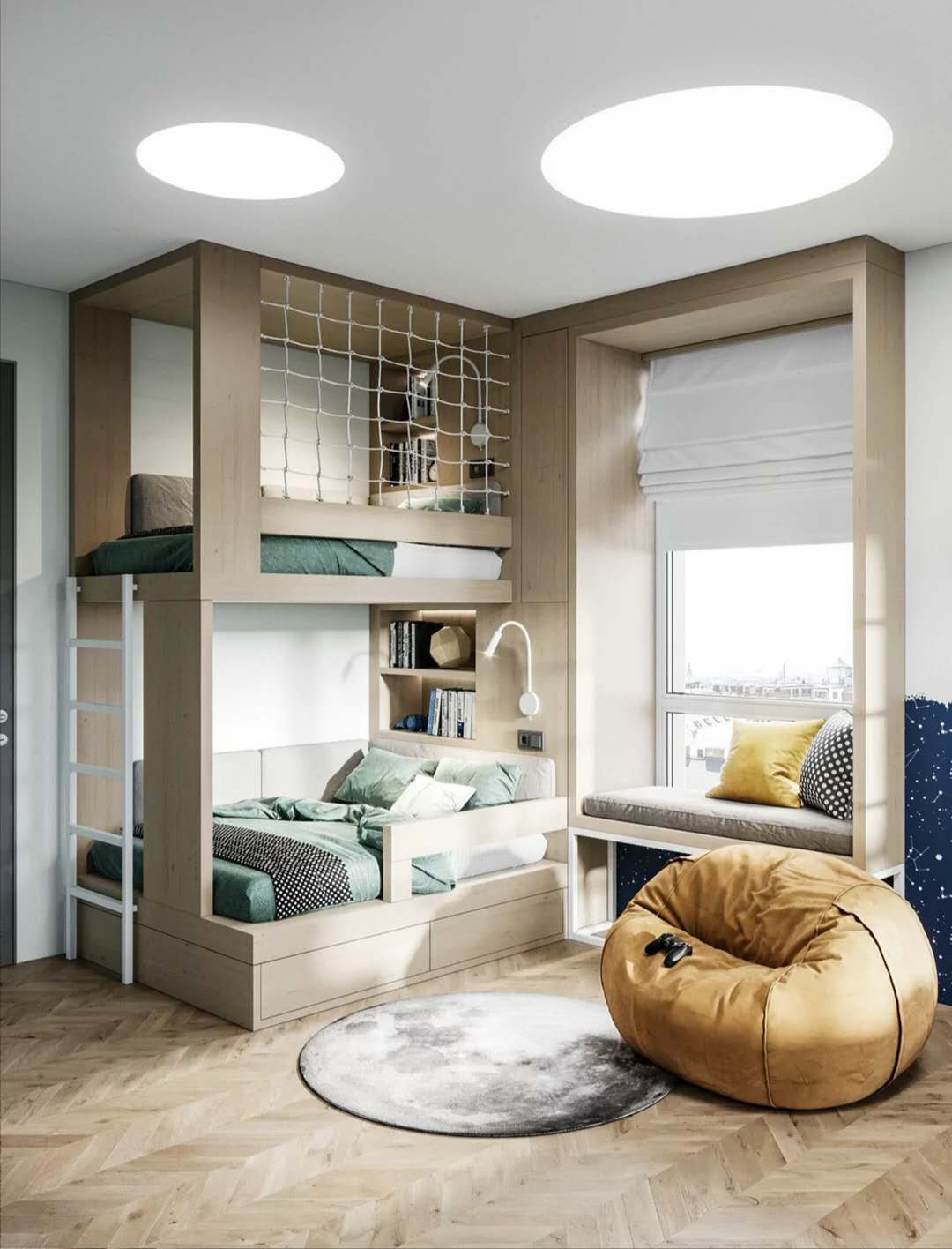 68平小公寓极简装修风格
